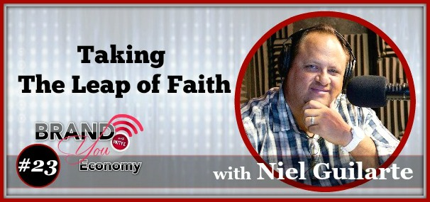 BYE 023: Stepping Outside The Comfort Zone with Niel Guilarte